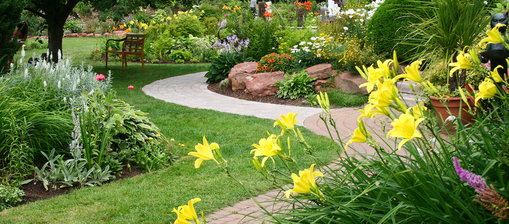 Request an estimate zionsville landscaping services for Landscape gardening services